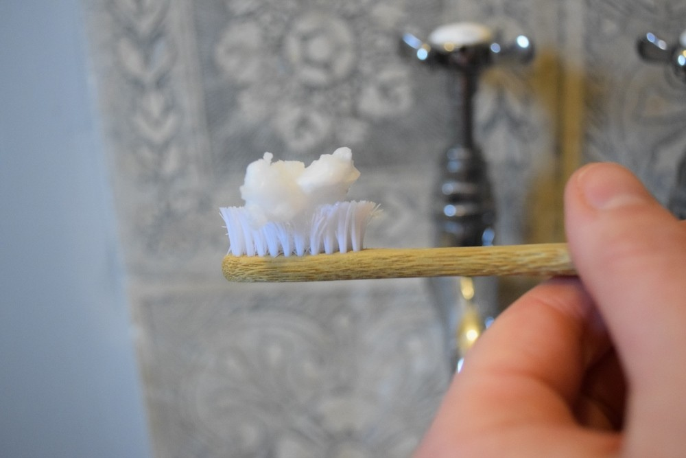 DIY toothbrushing - without plastic.